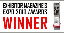 Exhibitor Magazine's 2010 Awards-Winner